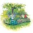 Релакс - иконка «сад» в Лукино